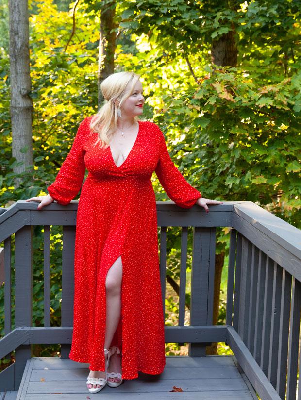 Cherry Bombshell Dress