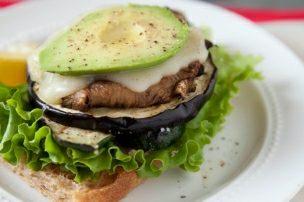 Grilled Summer Veggie Open-Faced Sandwiches