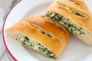 Spinach and Ricotta Calzones