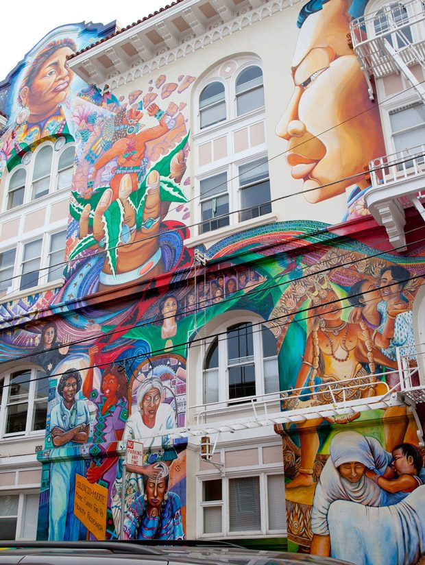 The Mission District: San Francisco, CA
