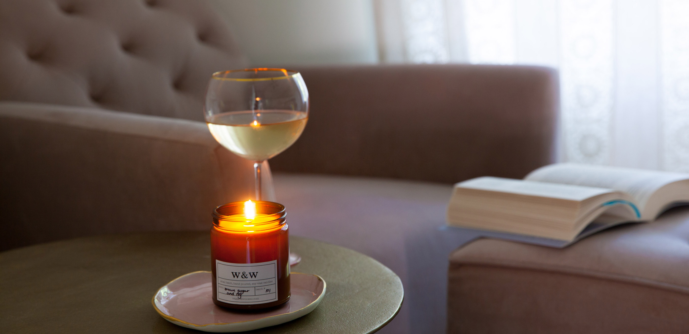 Wax and Wool Fall Candles