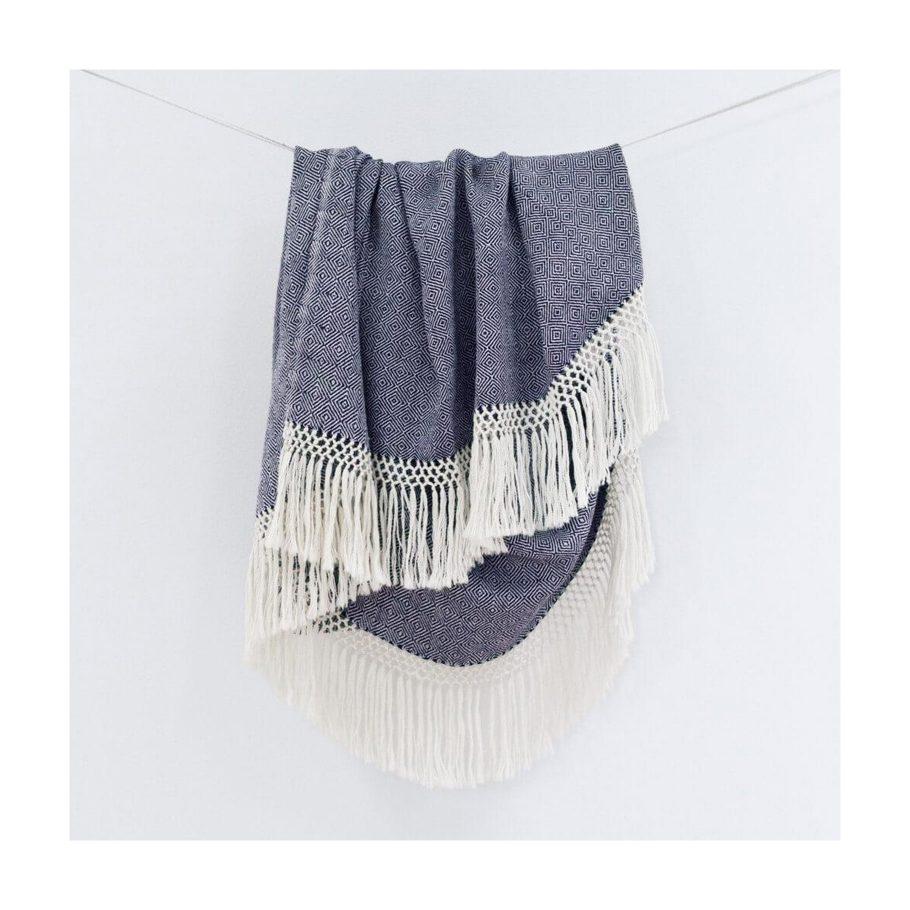 Handwoven Throw Blanket