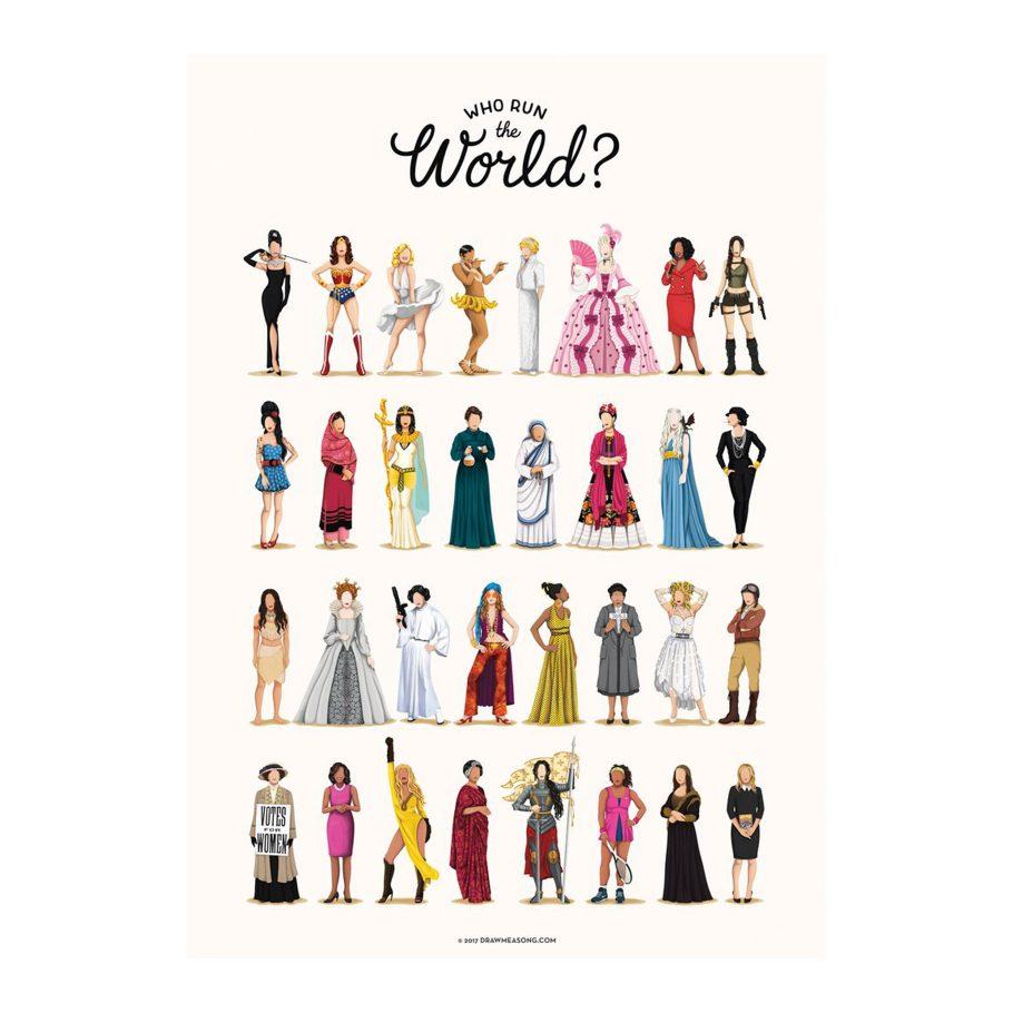 Who Runs the World? Art Print