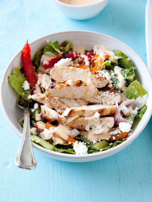 Grilled Chicken Fajita Chopped Salad