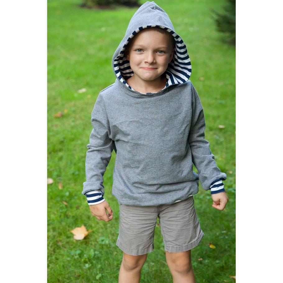 Simple Hooded Sweatshirt