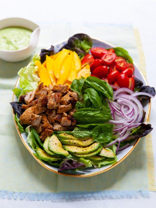 Tropi-Cobb Salad
