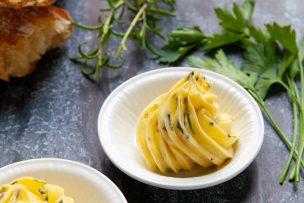 Garlic Herb Compound Herb Butter