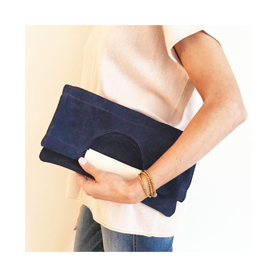 Bevy Goods clutches and accessories