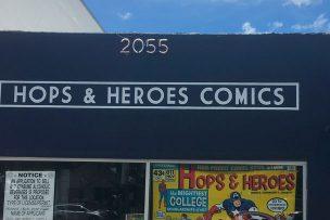 Hops & Heroes Comics