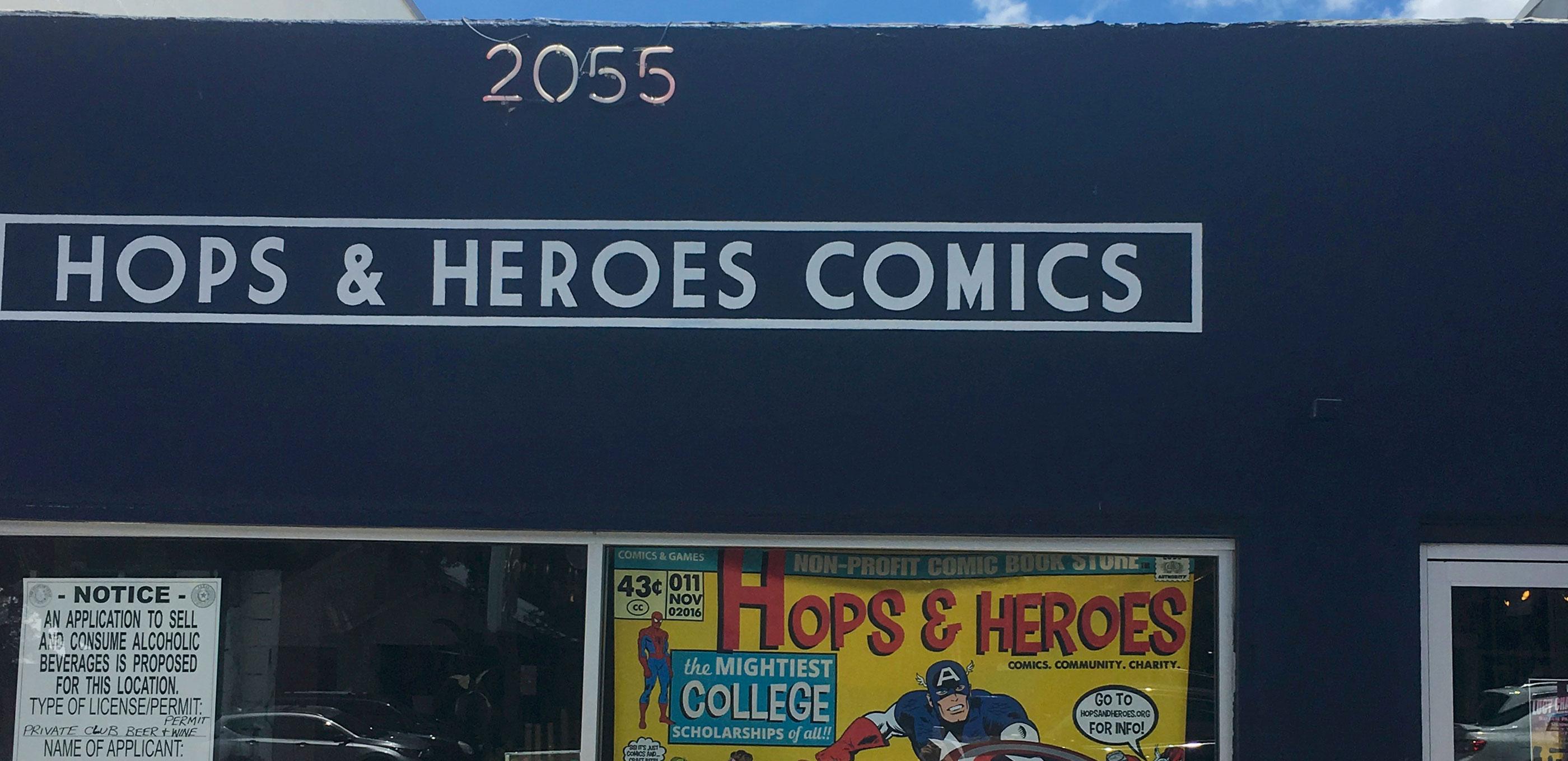 Hops & Heroes Comics – Austin, TX