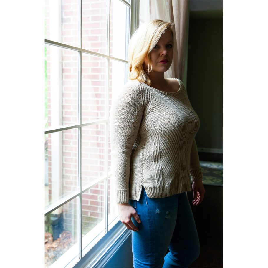 Divide Pullover - side view