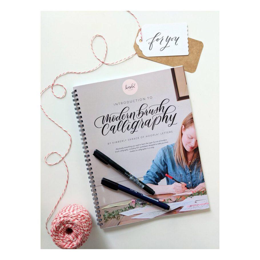 Modern Brush Calligraphy Kit