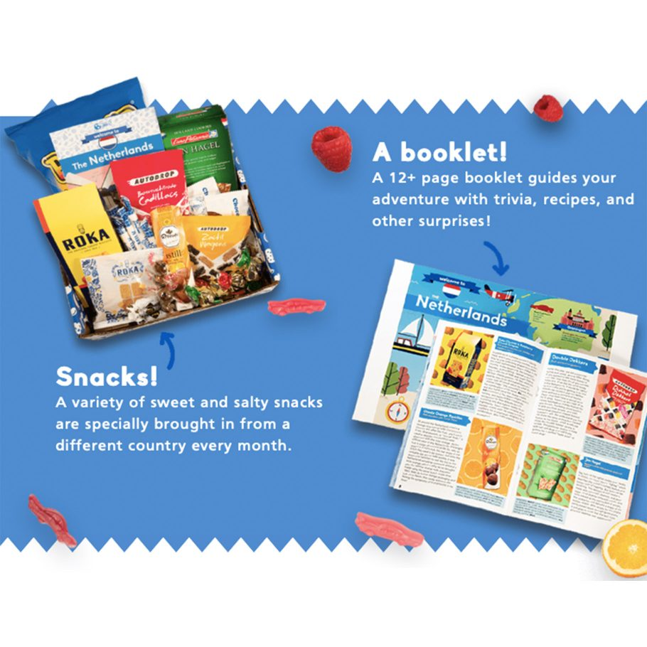 Around the World Snack Box Subscription