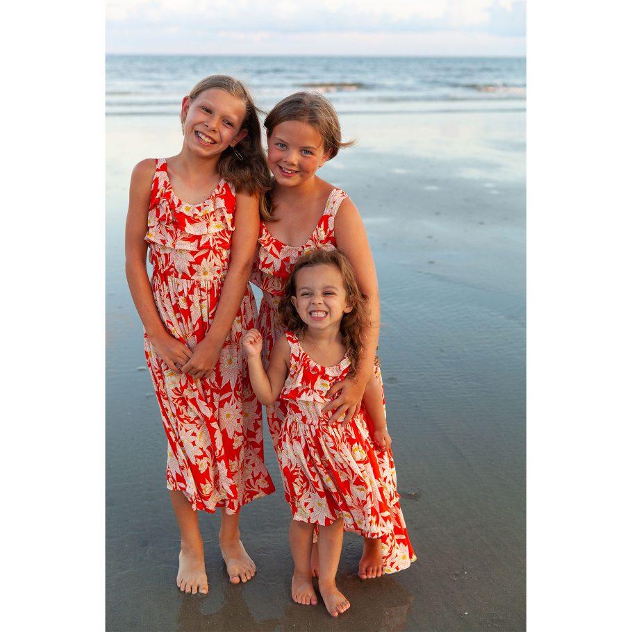 Three Happy Girls