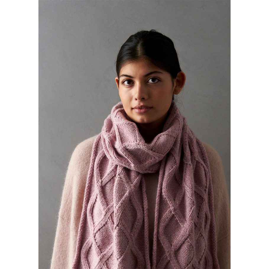 No Cable Cable Scarf