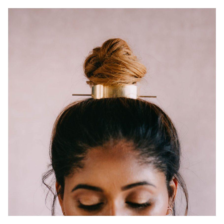 Top Knot Crown Hair Pin