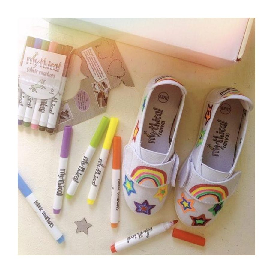 Decorate Your Own Shoe Kit