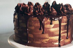 Chocolate Millionaire's Cake